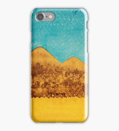 Mojave Moonrise original painting iPhone Case/Skin