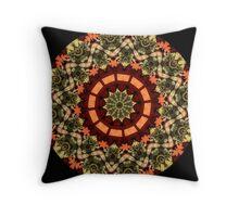 Slovak kaleidoscope #1 Throw Pillow