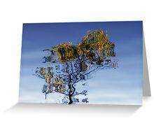 Autumn Reflection II Greeting Card