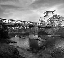 Callington Bridge, Callington, South Australia by Mark Richards