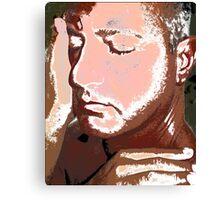 Abel Face Profile Canvas Print