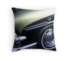 Green Victoria Throw Pillow
