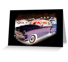 '49 Chevy Inverted Greeting Card