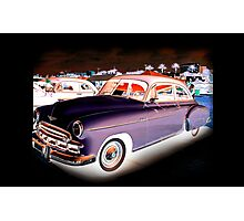 '49 Chevy Inverted Photographic Print