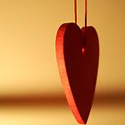 Wooden heart by sarahtoure