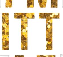 glitter af Sticker