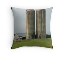 A Farmers Twin Towers Throw Pillow