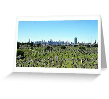 The Only Quiet Place in New York City Greeting Card
