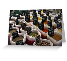 Spices & herbes, France Greeting Card