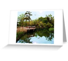 A Peaceful Virginia Inlet Greeting Card