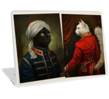The Hermitage Court Moor Cat  Laptop Skin