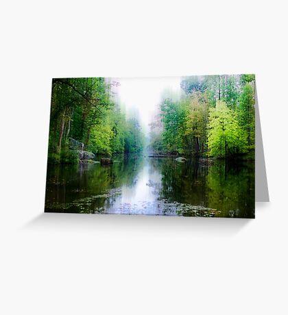Swamp Creek Dream Greeting Card