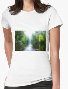 Swamp Creek Dream Womens Fitted T-Shirt