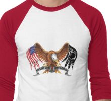 All Gave Some Some Gave All POW MIA Men's Baseball ¾ T-Shirt