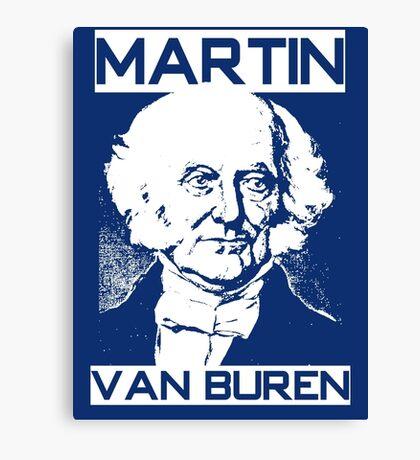 MARTIN VAN BUREN Canvas Print
