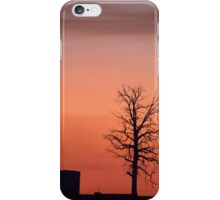 Black Rise Sunset  iPhone Case/Skin