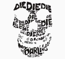 Die Die My Darling Sticker One Piece - Long Sleeve
