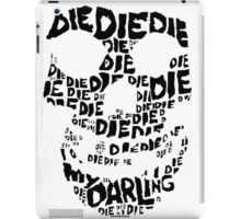 Die Die My Darling Sticker iPad Case/Skin