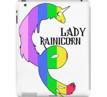 Lady Rainicorn iPad Case/Skin