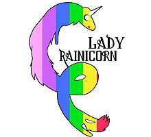 Lady Rainicorn Photographic Print