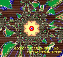 ( GOOI OF THE  RAVEN OFFERING  )  ERIC WHITEMAN  ART   by eric  whiteman