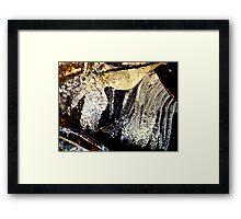 Ice Cracker For Christmas Framed Print