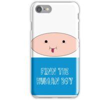 Finn The Human Boy iPhone Case/Skin