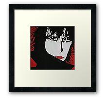 Siouxsie Sue Framed Print