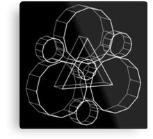 Coheed's Keywork in 3D - Basic Metal Print