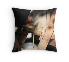 Apple Press Throw Pillow