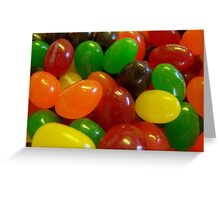 Starburst Jelly Beans Greeting Card