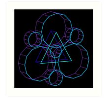 Coheed's Keywork in 3D- Serene Art Print