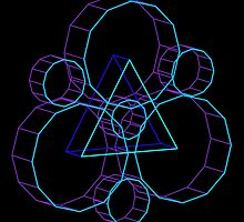 Coheed's Keywork in 3D- Serene by andymania