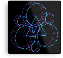 Coheed's Keywork in 3D- Serene Metal Print