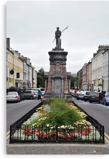 The Pikeman, Denny St., Tralee, Ireland by Pat Herlihy
