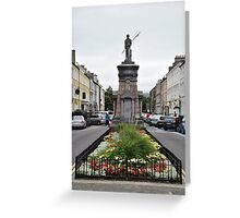 The Pikeman, Denny St., Tralee, Ireland Greeting Card