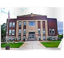 MUSSELSHELL COUNTY COURTHOUSE Poster
