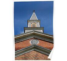 Mann's Chapel Steeple Poster