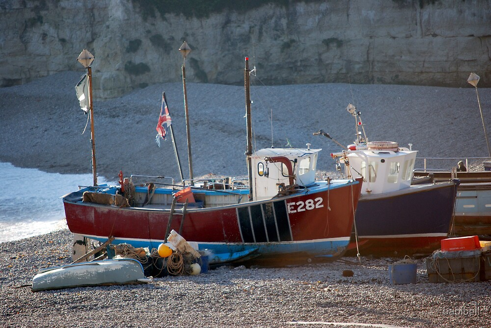 Sea Boats by Claire Dimond