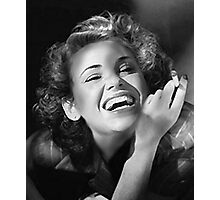 Wendy Smokin' 1940s Photographic Print