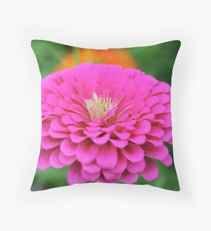 Lovely in Pink Throw Pillow