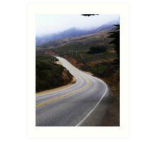 Highway One Art Print