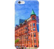 Walking to the Flatiron Building iPhone Case/Skin