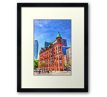 Walking to the Flatiron Building Framed Print