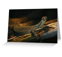 Regal Reptile Greeting Card
