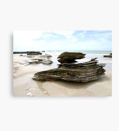 Ocean's Sculpture Canvas Print