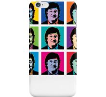 Stephen Fry (Andy Warhol) iPhone Case/Skin