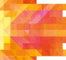 Red Pixel Fireball  Sticker