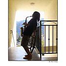 La Crescenta Jazz Busker by MarkYoung