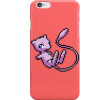 pokemon pixel mew chibi anime shirt iPhone Case/Skin